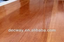Solid Kempas wood flooring