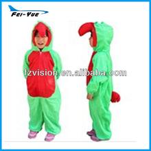 Easy Coral Fleece Animal Parrot Costume for Children/Kids