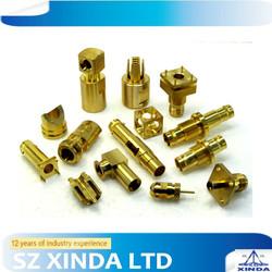 custom OEM ODM brass cnc precision parts