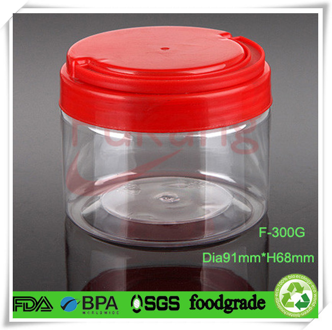Plastic Candy Jars Wholesale 300ml Plastic Small Candy Jars