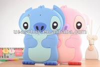 for silicone ipad case with 3d image, hot new products for 2014 animal shaped silicone phone case