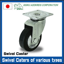 High quality 4inch wheel casters with brake made in Japan