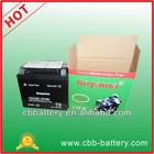 Sealed mainteance free motorcycle battery 12V10AH motorbike battery YTX12-BS E-bike battery