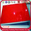 high glossy uv coated mdf board / uv high gloss mdf board