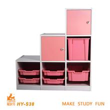 pink wooden children school furniture