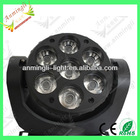 7*12w LED moving head