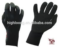 New collection 3.5mm neoprene waterproof kevlar glove for diving