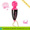 Cute mini body massage sex product,mini wand massager vibrator