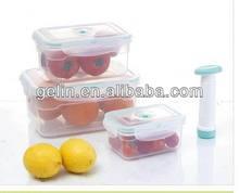 3pcs vacuum pump food container GL9521-B