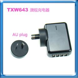 Good Quality Quad Port USB Charger For iPad Air