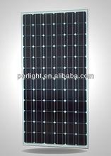 High efficiency perlight 280W Black Mono Solar Panel