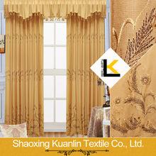 2014 Embroidery European style window curtain
