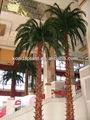 Falso artificiale albero di noce di cocco, alberi e piante di plastica finto. Decorativi albero artificiale