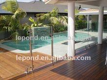 swimming pool deck glass /glass deck panels