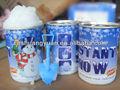 2014 artificialinstantánea de la nieve para la decoración del partido
