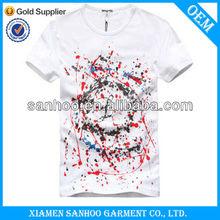 Good Quality Screen Printing T-Shirts Men Cheap Fashion Stylish Wholesale