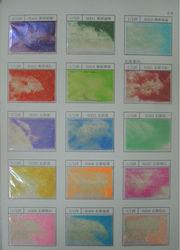 Shinny nail polish pet hexagonal glitter powder pigments