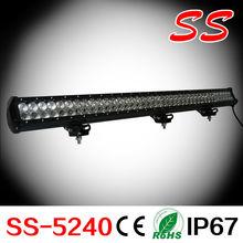 228w 39.5inch 4wd led yacht super power light bar go kart ss-5228