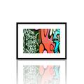 Graffiti parole tela parete arte/moderna graffiti di pittura di arte della parete/vendita calda pop art