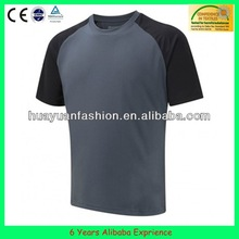 newest fashion OEM service embroidered printing logo basic t-shirt(6 Years Alibaba Experience)