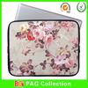 flower design 13.3 inch neoprene laptop bag notebook sleeve