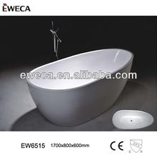 2014 New Style Acrylic Bathtub, Egg Shape Bath Tub,Thin Edge Tub