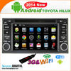 TYT-7930GDA 6.2 Inch 2 Din touch screen Android 4.2.2 WIFI Hilux Car Dvd Player Gps