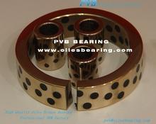 Graphite Bronze Bush,Sintered Bronze Oiles Bushes,BCB-304025 Precision Bronze Bearing