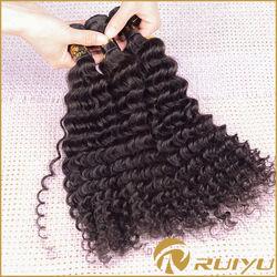 Xuchang hair factory one donor deep wave 100% virgin brazilian hair