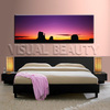 Beautiful Sunrise High Quality Panoramic Canvas Wall Decor Oil Paintings