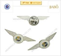 custom metal pilot wings pins badge