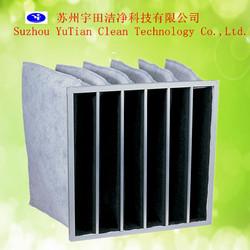activated carbon filter bag medium efficiency air filter bag
