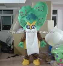 make green palm tree mascot costume adult palm tree costume