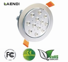 cree led downlight,ic rated led downlight,ce led downlight LDT-12*3W-C