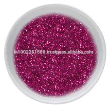 Silk Screen Pink Glitter Uv Varnish
