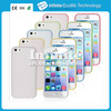 Double Color Frosted TPU Character phone case for iPhone 5C