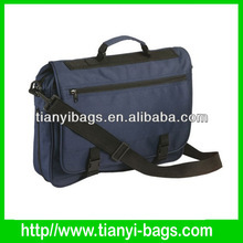 2014 factory offer polyester fabric men messenger bag