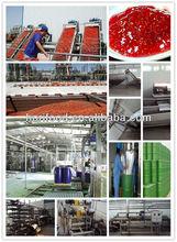 220L Barrels Packaging Strawberry Jam Production Line