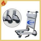 2014 hot sales fashion aluminum 3 wheels airport trolley carts