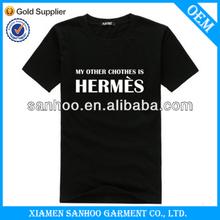 Wholesale Fashion Customized Printed Logo T-Shirt Comfortable Man Top Quality