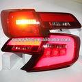 Año 2013-2014 toyota camry luz trasera led de color rojo u. La versión s