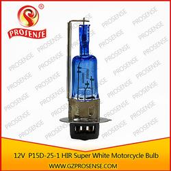 motorcycle super white/golde bulbs 12v 35/35w p15d-25-1