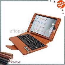 bluetooth keyboard leather case for ipad mini 2