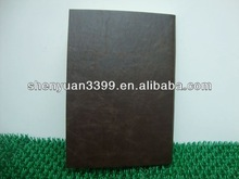 Leather executive blank note book, school notebook a 5, leather note book holder organiser book