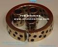 Oilless buchas de bronze, auto lubrificantes oiles bucha de bronze, bcb-354840 oilless bucha de guia