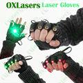 oxlasers fresco verde luvas laser com laser verde laser palco de dança show de luz dj club partido com luz de palma