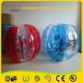 venda quente personalizado carros claro bola bolha 2015 para jogo de futebol