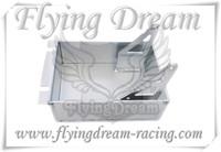 pit bike&super moto sump tray silver