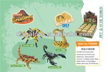 animals plastic 3d model puzzle