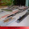 Modelo de trabalho para a indústria/alimentos linha de produção do modelo